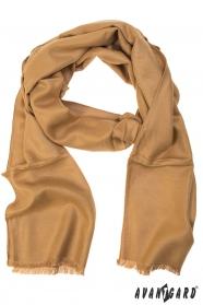 Herren Schal in beige Farbe