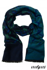 Blaugrüner Schal