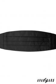 Kummerbund in schwarz