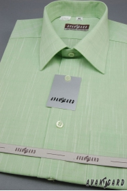 Kiwi Green Herrenhemd mit Kurzarm