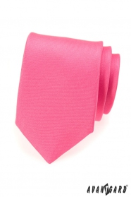 Matte Krawatte in Rosa
