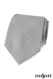 Graue Herren Krawatte strukturiert