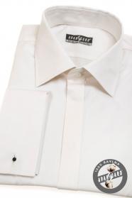 Herren Hemd für Manschettenknöpfe Baumwolle