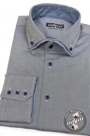 Graues Hemd Baumwolle