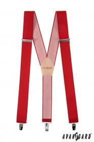 Klassische Hosenträger in Rot