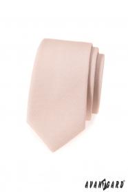 Elfenbeine Herren Slim Krawatte