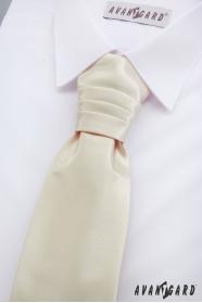 Französische Jungen Krawatte in Cremige
