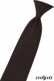 Braune Kinder Krawatte