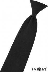 Schwarz Junge Krawatte 31 cm
