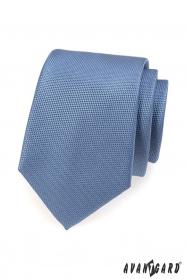 Hellblaue Krawatte 7 cm Lux