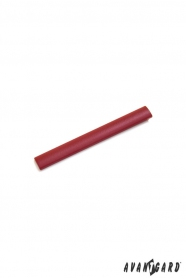 Rote Krawattenklammer