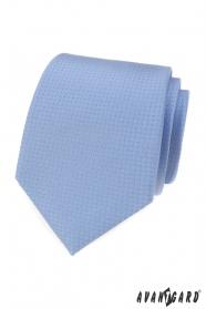 Blaue Krawatte mit Punkten