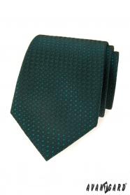 Grüne, gemusterte Avantgard Krawatte
