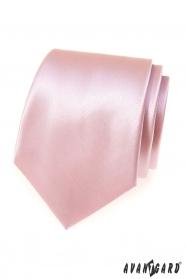 Herren Krawatte Rosa/Puder