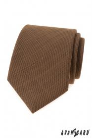 Zimtbraune Krawatte LUX
