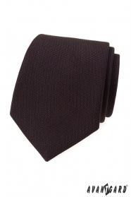 Braune Krawatte LUX