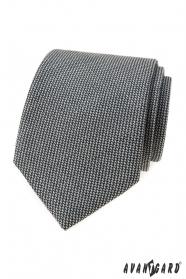 Graue Krawatte LUX