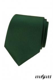 Mattgrüne Krawatte LUX