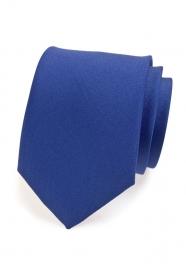 Blaue matte Krawatte