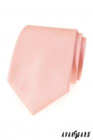 Sanft Lachsfarbe Avantgard Krawatte