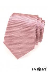 Herren Krawatte AVANTGARD Puderrosa
